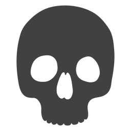 Skull human without jaw