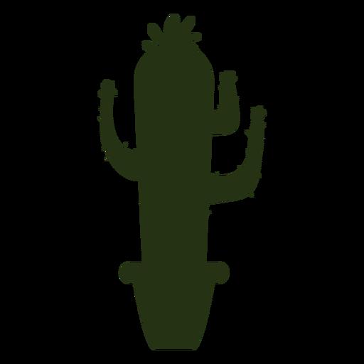 Succulent plants simple thin silhouette Transparent PNG