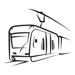 Tren eléctrico golpe izquierdo