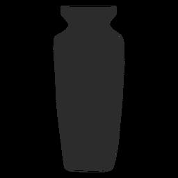 Florero estilo alabastron silueta