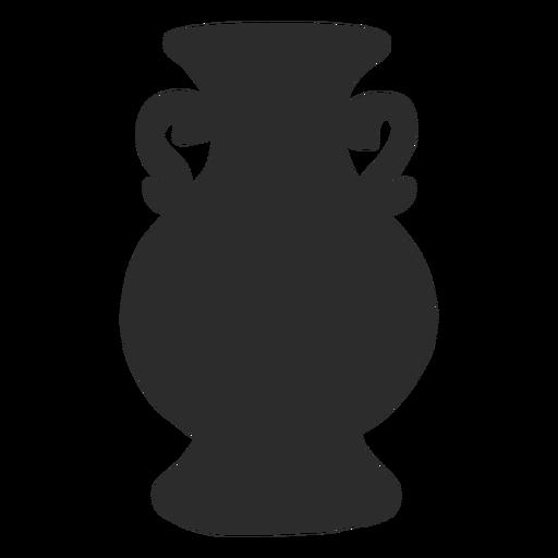 Vaso estilo ánfora líquidos silueta Transparent PNG