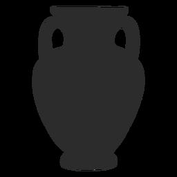 Vase style amphora panathenaic silhouette