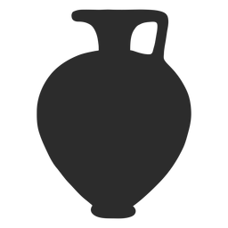 Vase style hydria silhouette