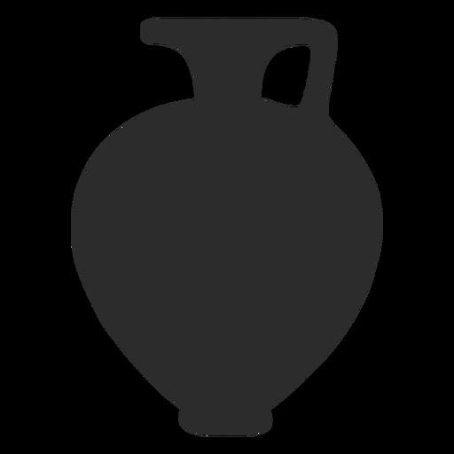 Florero estilo hydria silueta Transparent PNG