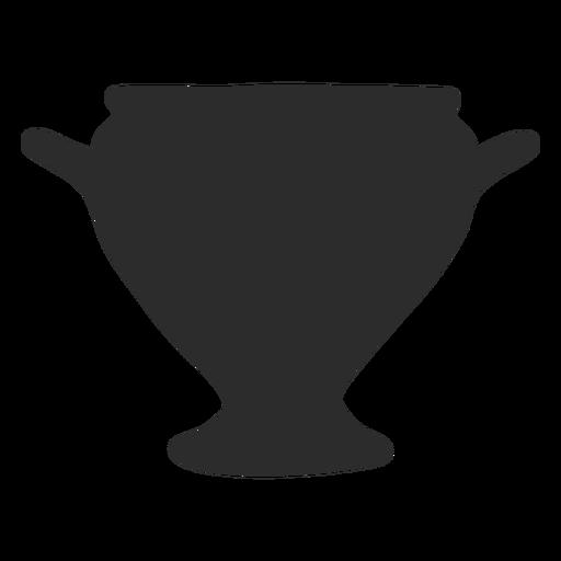 Florero estilo kylix silueta Transparent PNG