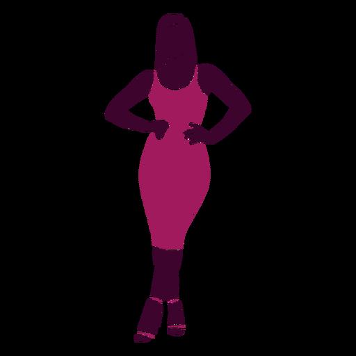 Women sexy posing hands on hip