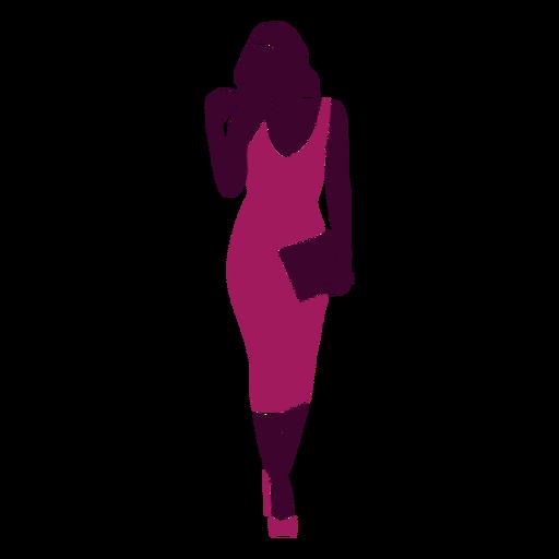 Bolso recto de mujer sexy caminando Transparent PNG