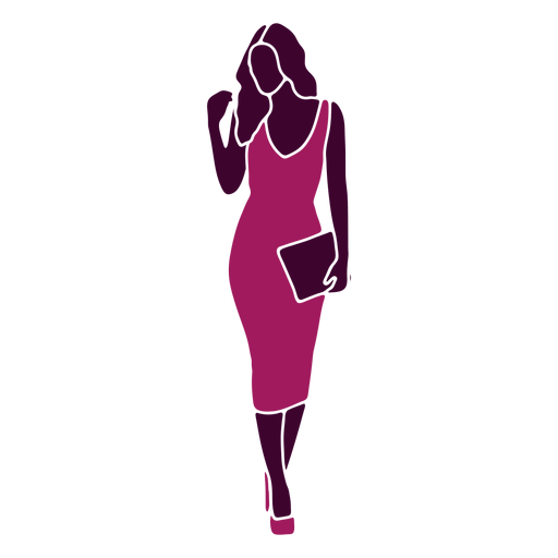 Women sexy walking straight purse
