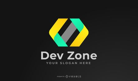Design de logotipo da Dev Zone