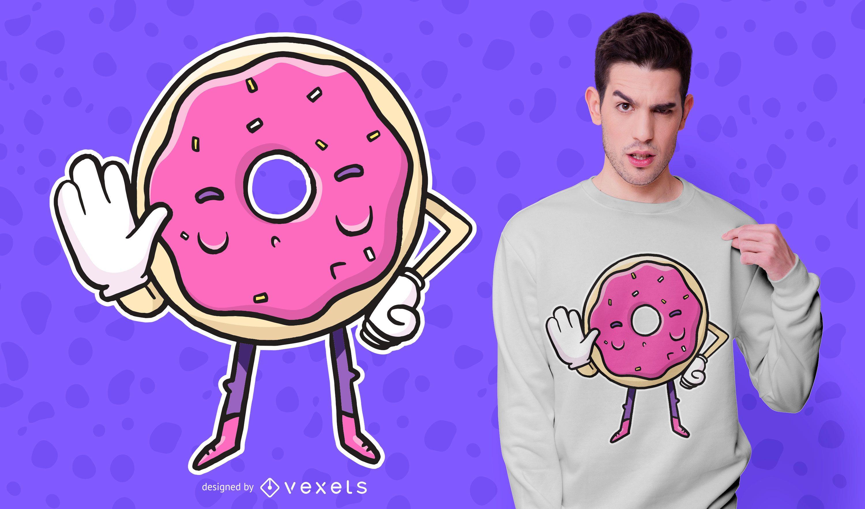 Donut dice que no hay dise?o de camiseta