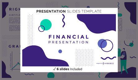 Apresentação financeira abstrata