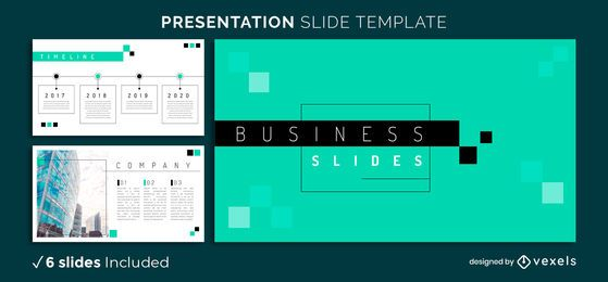 Geometric Business Presentation Template