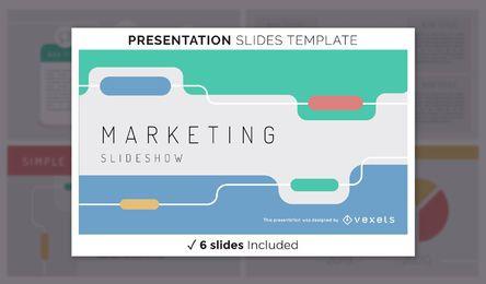 Simple Marketing Presentation Template