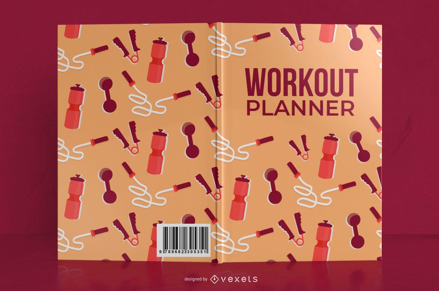 Mi diseño de portada de libro de planificador de ejercicios