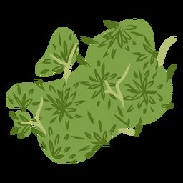 Bett wie grüner Baum