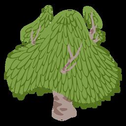 Cute mushroom like tree