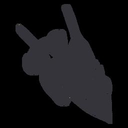 Koala tree silhouette
