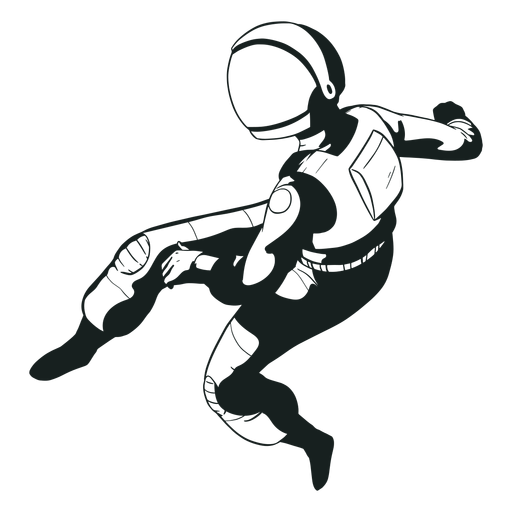 Pose cool astronaut