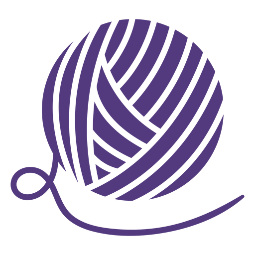 Silhouette big wool ball Transparent PNG
