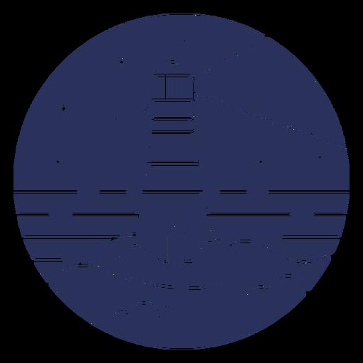 Silhouette snow landscape lighthouse Transparent PNG
