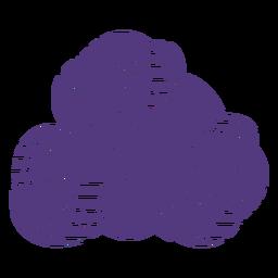Hilos de lana silueta