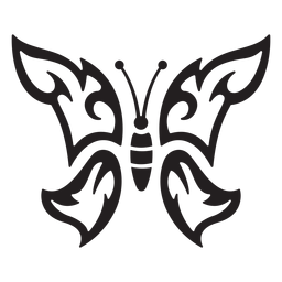 Einfacher Schmetterlingsschlag Schmetterling