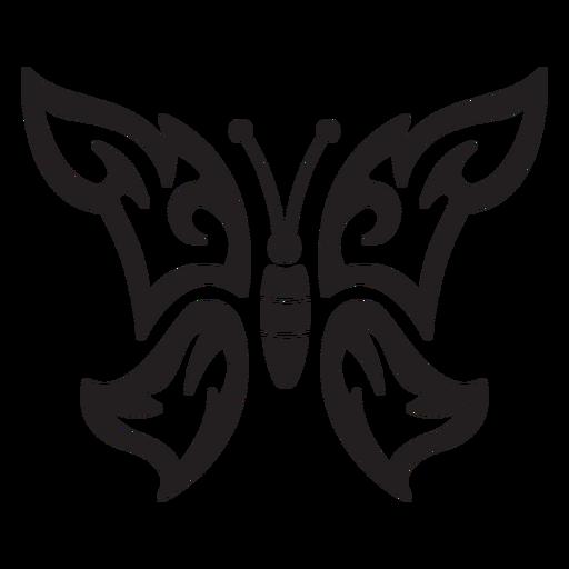 Simple butterfly stroke butterfly
