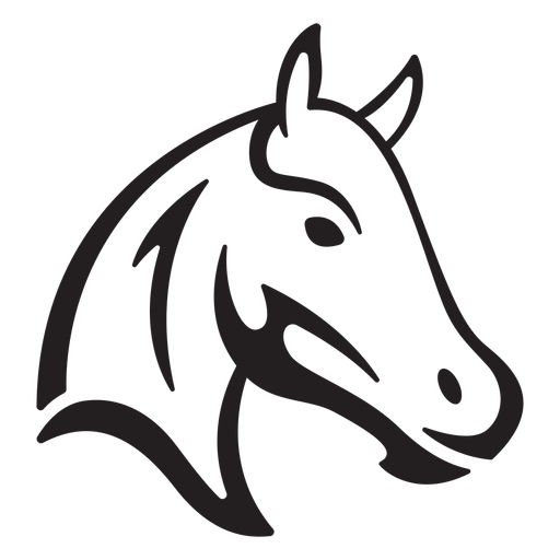 Simple horse stroke
