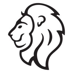 Simple lion stroke