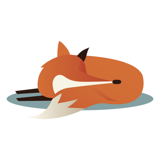 Zorro durmiente simple