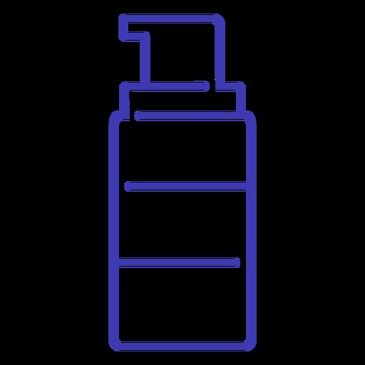 Stroke beauty bottle