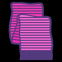 Bufanda de lana de color