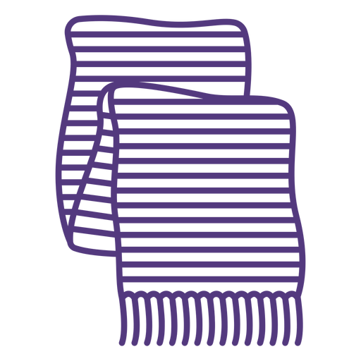 Trazo de bufanda de lana