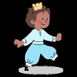 Balancing prince cute