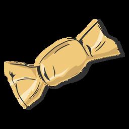 Candy shaped pasta drawn