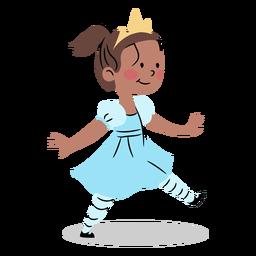 Cool princesa caminando