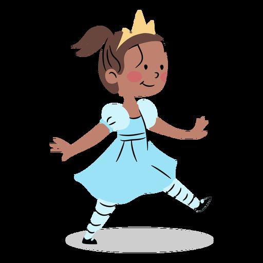 Cool princess walking
