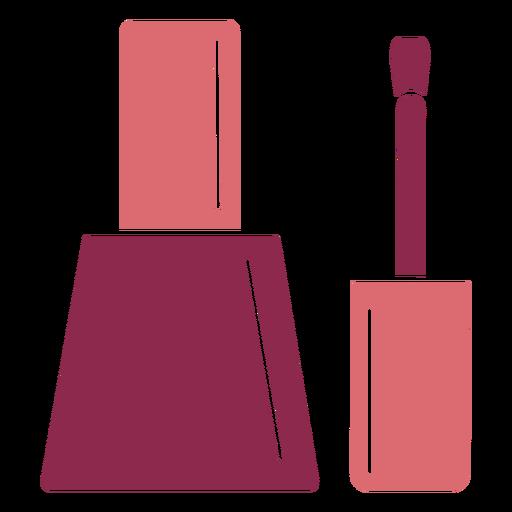 Esmalte de uñas de color lindo