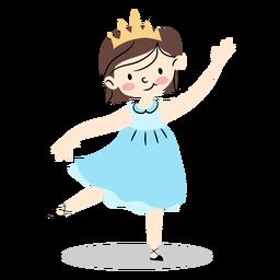 Lindo vestido princesa