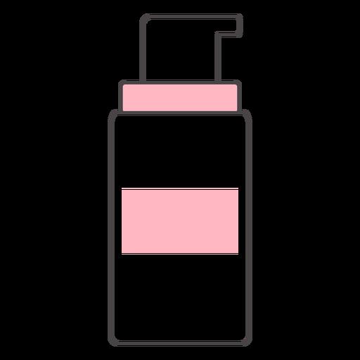 Cute duotone beauty bottle