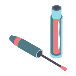 Lipgloss bonito isométrico
