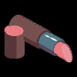 Lindo lápiz labial isométrico