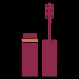Maquillaje lindo del cepillo del rimel
