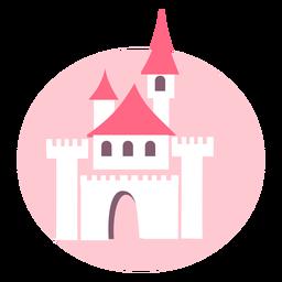 Castelo rosa fofo