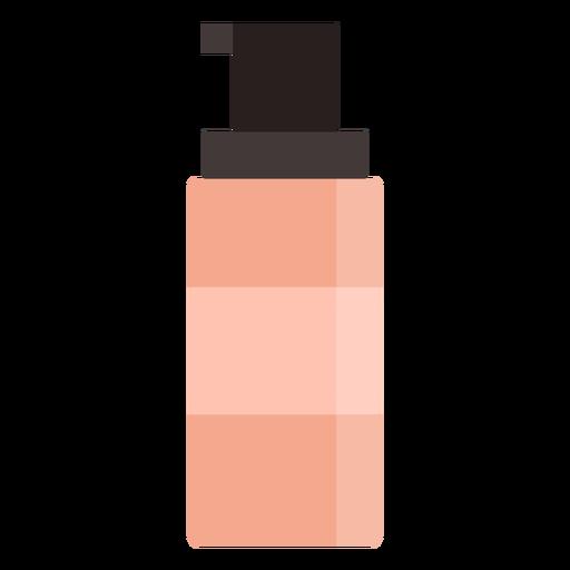 Flat beauty bottle