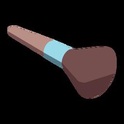 Makeup brush isometric