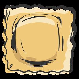 Pasta drawn ravioli