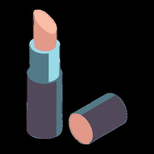 Pretty lipstick isometric