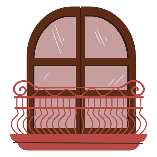 Princess balcony castle
