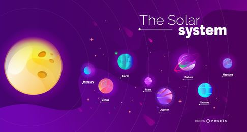 Diseño de la cubierta del sistema solar